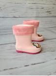 Резиновые сапоги детские BBT M5173 розовые