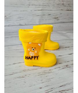 Резиновые сапоги детские BBT M5175-6 желтые