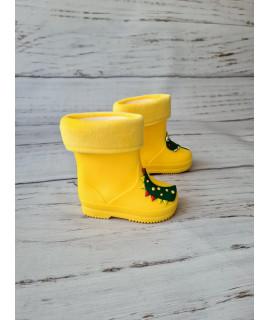 Резиновые сапоги детские BBT M5176-6 желтые