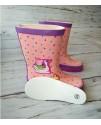 Резиновые сапоги детские BBT M996-6 розовые