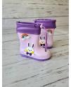 Резиновые сапоги RS1903 purple фиолетовые
