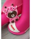 Резиновые сапоги детские Class Shoes SZ932 малиновые
