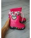 Резиновые сапоги детские Class Shoes YJ60M розовые