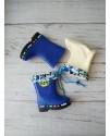 Резиновые сапоги детские Class Shoes YJ6B0 синий