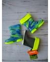 Резиновые сапоги детские Demar мозаика голубая