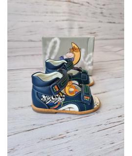 Босоножки детские Сказка 131CLB синие