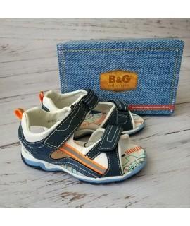 Сандалии детские B&G BG190-937 синие
