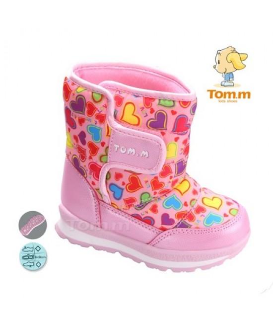 Сапоги-дутики детские Tom.m 3561C розовые
