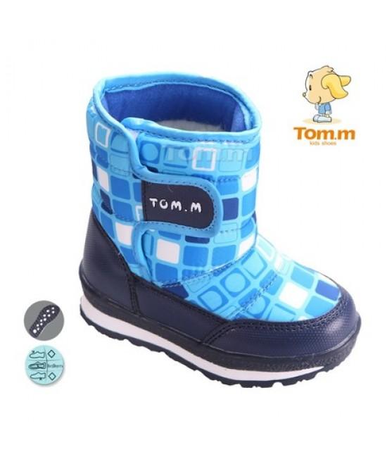 Сапоги-дутики детские Tom.m 3562H синие