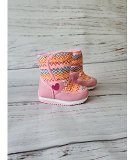 Сапоги-дутики детские Tom.m 3986D розовые