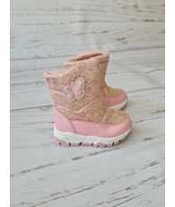Сапоги-дутики детские зимние Tom.m 7602A розовые