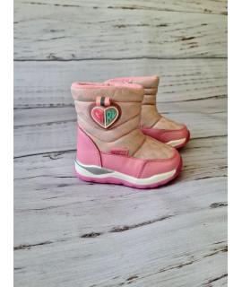 Сапоги-дутики детские Tom.m 7705B розовые