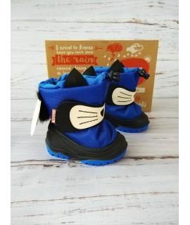 Сноутбутсы детские Alisa line A601 Cat синий