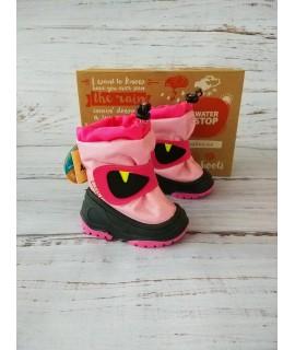 Сноутбутсы детские Alisa line A601 Rico розовый