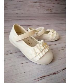 Туфли детские Солнце HJ86-1C белые