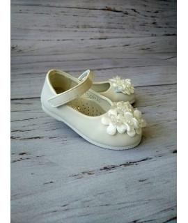 Туфли детские Солнце HJ89-1C белые