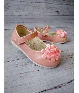 Туфли детские Солнце HJ89-1P розовые