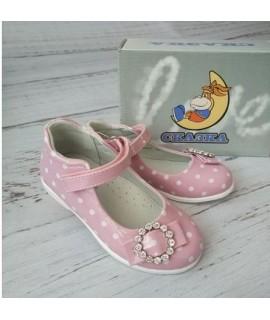 Туфли детские Сказка R701P розовые