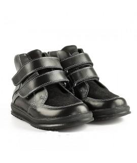 Ботинки детские демисезонные Miracle Me 8616 черные