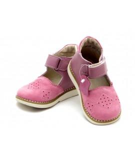 Ортопедические полуботинки детские Берегиня 2617 розовые