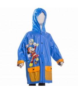 Плащ-Дождевик Микки и веселые гонки Disney Arditex WD11607 голубой