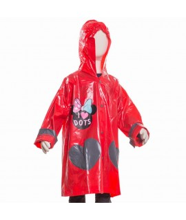 Плащ-Дождевик Мини маус Disney Arditex WD11627 красный