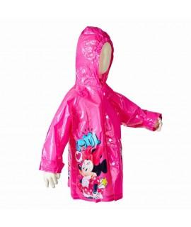 Плащ-дождевик Минни маус Disney Arditex WD9752 малиновый