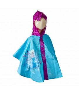 Плащ-дождевик пончо Холодное сердце Disney Arditex WD9783 голубой