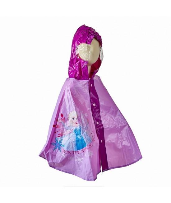 Плащ-дождевик пончо Холодное сердце Disney Arditex WD9783 сиреневый