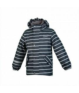 Куртка-дождевик детская JACKIE Huppa темно-серая