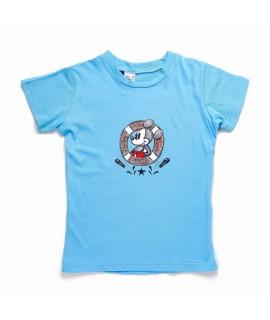 Футболка Минни Маус Disney Arditex WD11025 голубая