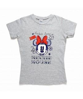 Футболка Минни Маус Disney Arditex WD11025 серая