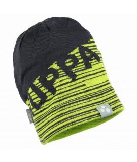 Вязанная детская шапка ASTON Huppa зеленая
