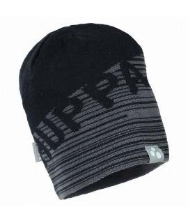 Вязанная детская шапка ASTON Huppa серая