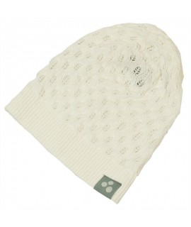 Вязанная детская шапка LILLY Huppa белая
