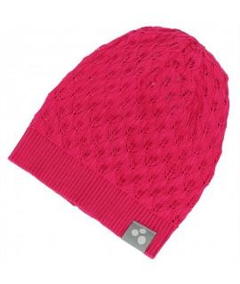 Вязанная детская шапка LILLY Huppa фуксия