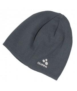 Вязанная детская шапка PEPPI Huppa серая