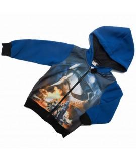 Кофта на молнии Звездные войны Disney Sun City синяя
