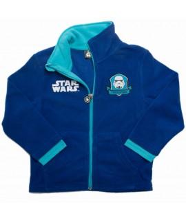 Кофта флисовая Звездные войны Disney Sun City HQ1061 синяя