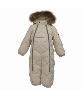 Комбинезон-пуховик детский зимний BEATA 1 Huppa 70061 бежевый