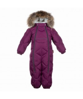 Комбинезон-пуховик детский зимний BEATA 1 Huppa 80034 вишневый