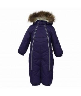 Комбинезон-пуховик детский зимний BEATA 1 Huppa 70073 фиолетовый