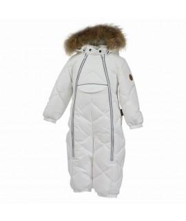 Комбинезон-пуховик детский зимний BEATA 1 Huppa 70020 белый