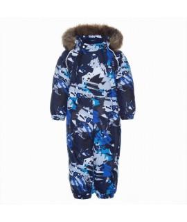 Термокомбинезон детский зимний KEIRA Huppa 92886 синий