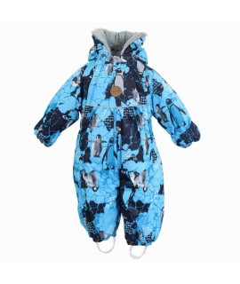 Комбинезон-трансформер детский зимний MARY Huppa 93636 голубой