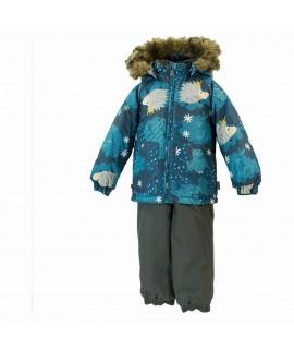 Комплект зимний детский AVERY Huppa 83366 серый