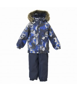 Термокомплект зимний детский AVERY Huppa 82886 синий