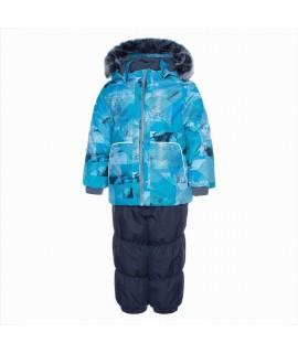 Комплект зимний детский RUSSEL Huppa 92536 бирюзовый