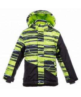 Термокуртка детская зимняя ALEX 1 Huppa 82647 зеленая