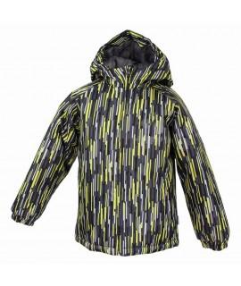 Термокуртка детская зимняя CLASSY Huppa лайма